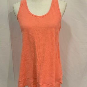 Calvin Klein Sz Med coral performance tank top